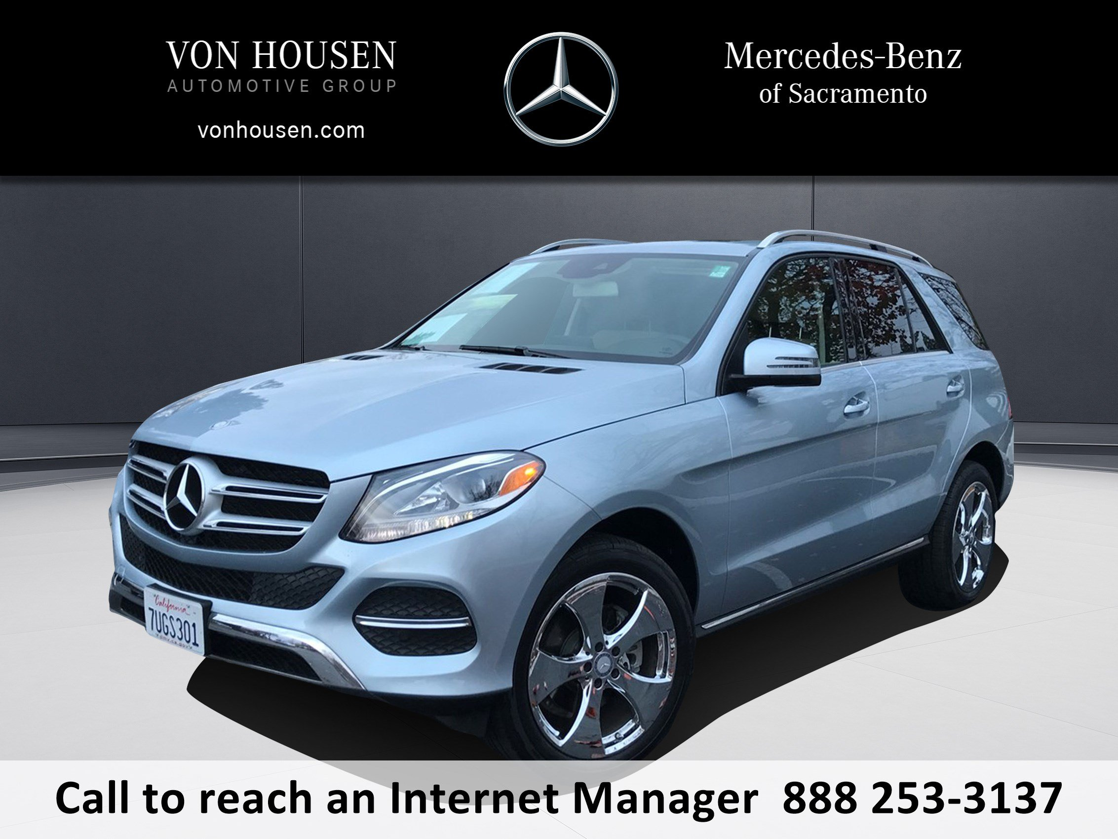 Certified Pre Owned 2016 Mercedes Benz GLE GLE 350 SUV in Sacramento