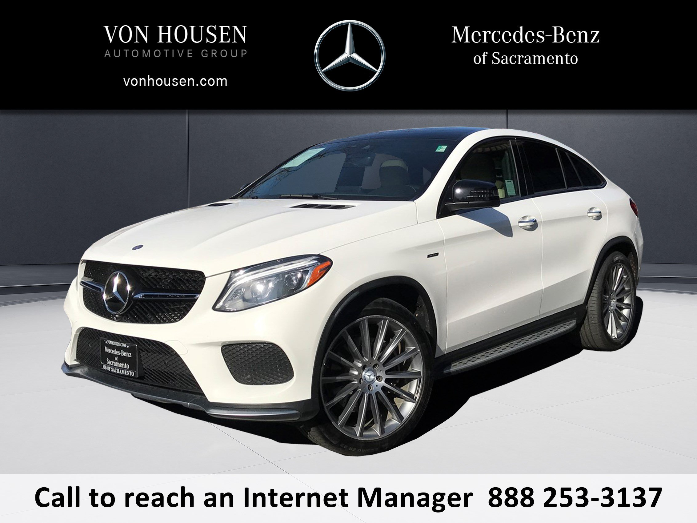 Certified Pre Owned 2016 Mercedes Benz GLE GLE 450 COUPE in