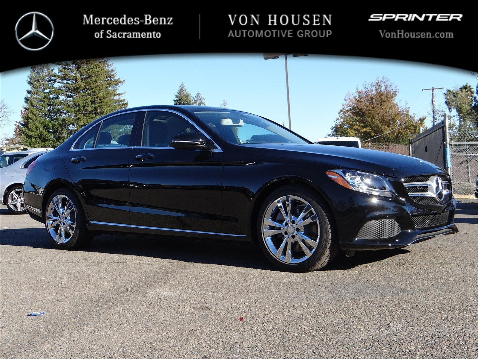New 2016 mercedes benz c class c300w 4dr car in sacramento for 2017 mercedes benz c300w