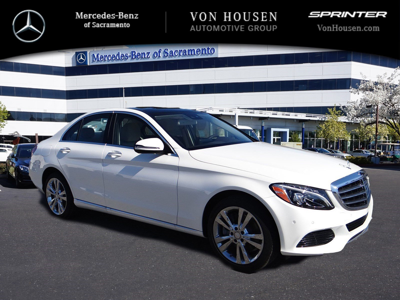 New 2017 mercedes benz c class c300 4dr car in sacramento for Mercedes benz service sacramento