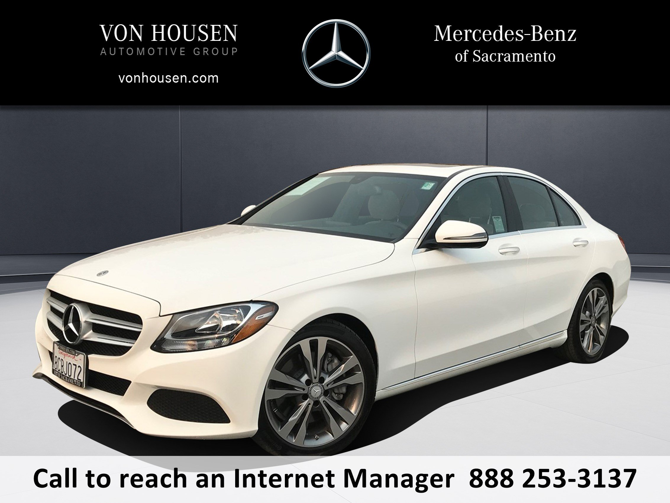 Pre Owned 2018 Mercedes Benz C Class C 300 4dr Car in Sacramento