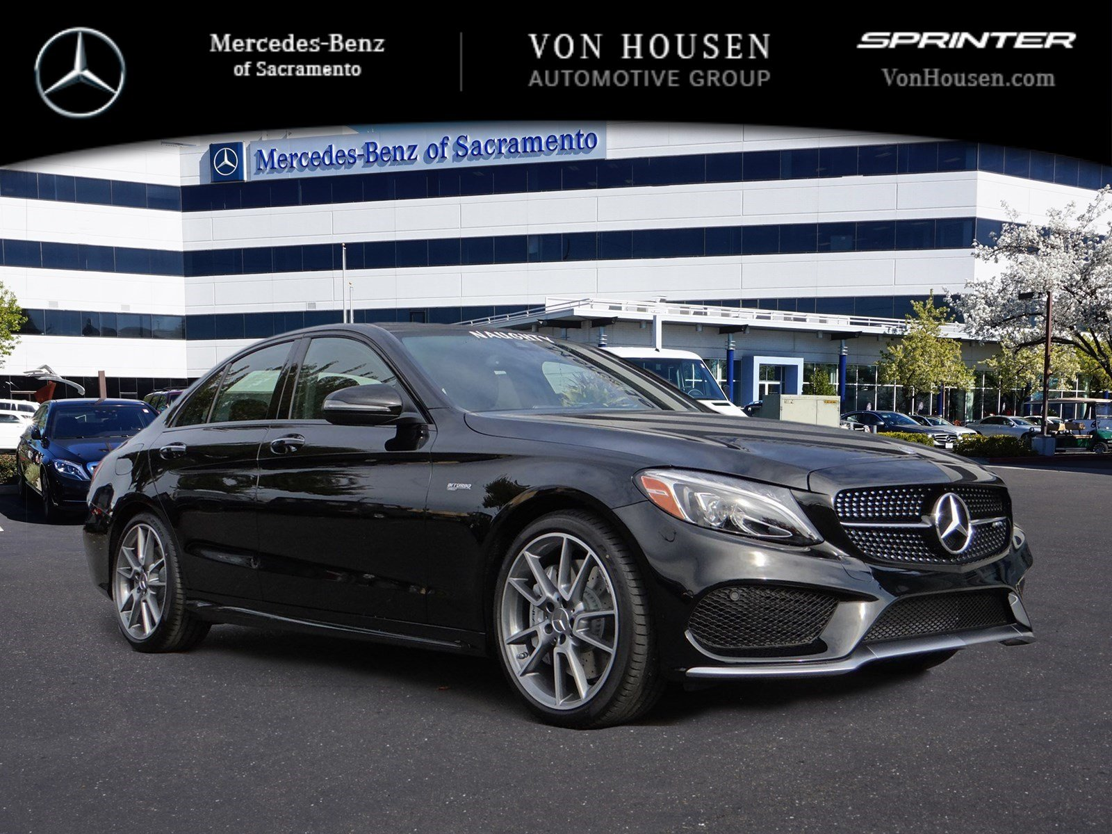 New 2017 mercedes benz c class amg c43 4dr car in for Mercedes benz service sacramento