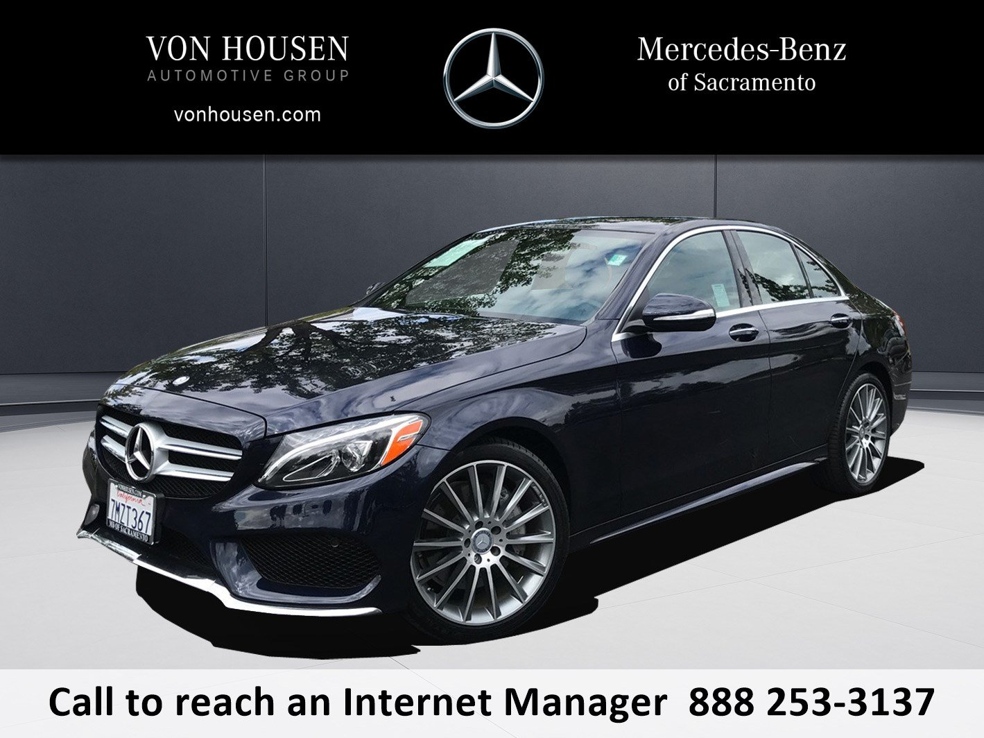 Certified Pre Owned 2015 Mercedes Benz C Class C 400