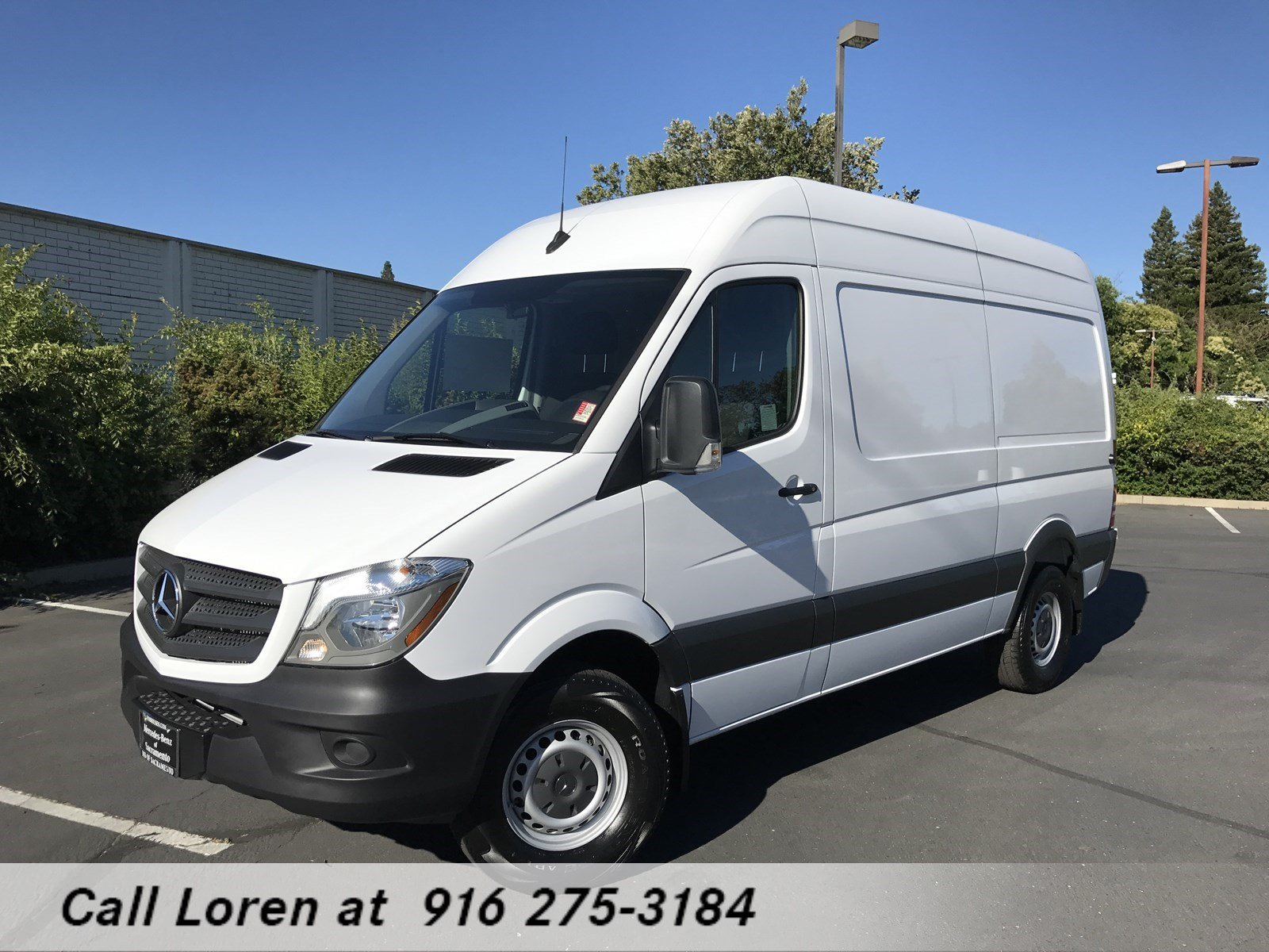 new 2018 mercedes benz sprinter cargo van m2ca46 full size cargo van