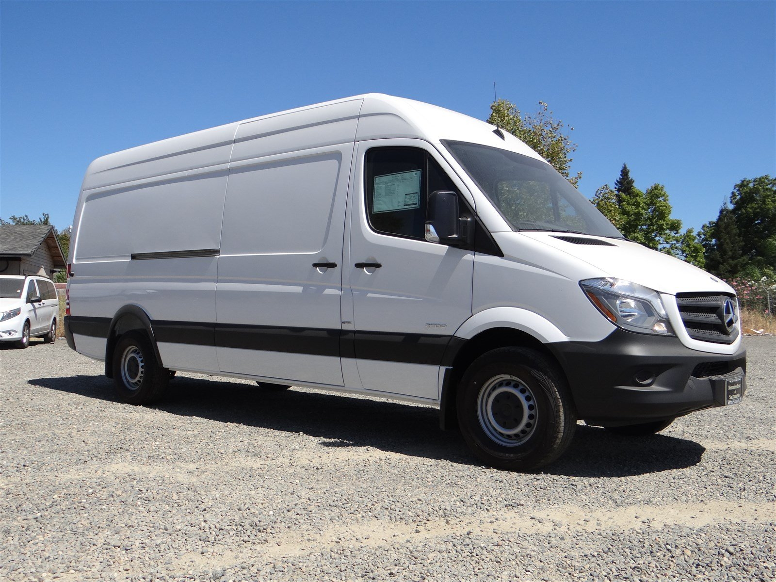 New 2016 mercedes benz sprinter cargo van in sacramento for Mercedes benz van