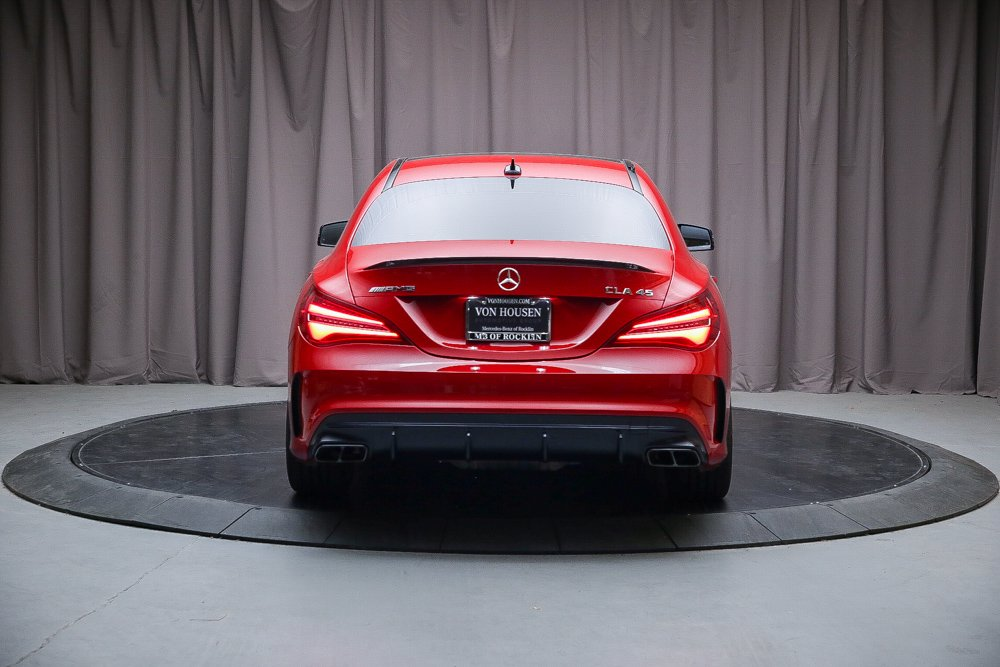 Certified Pre-Owned 2017 Mercedes-Benz CLA AMG® CLA 45 Coupe