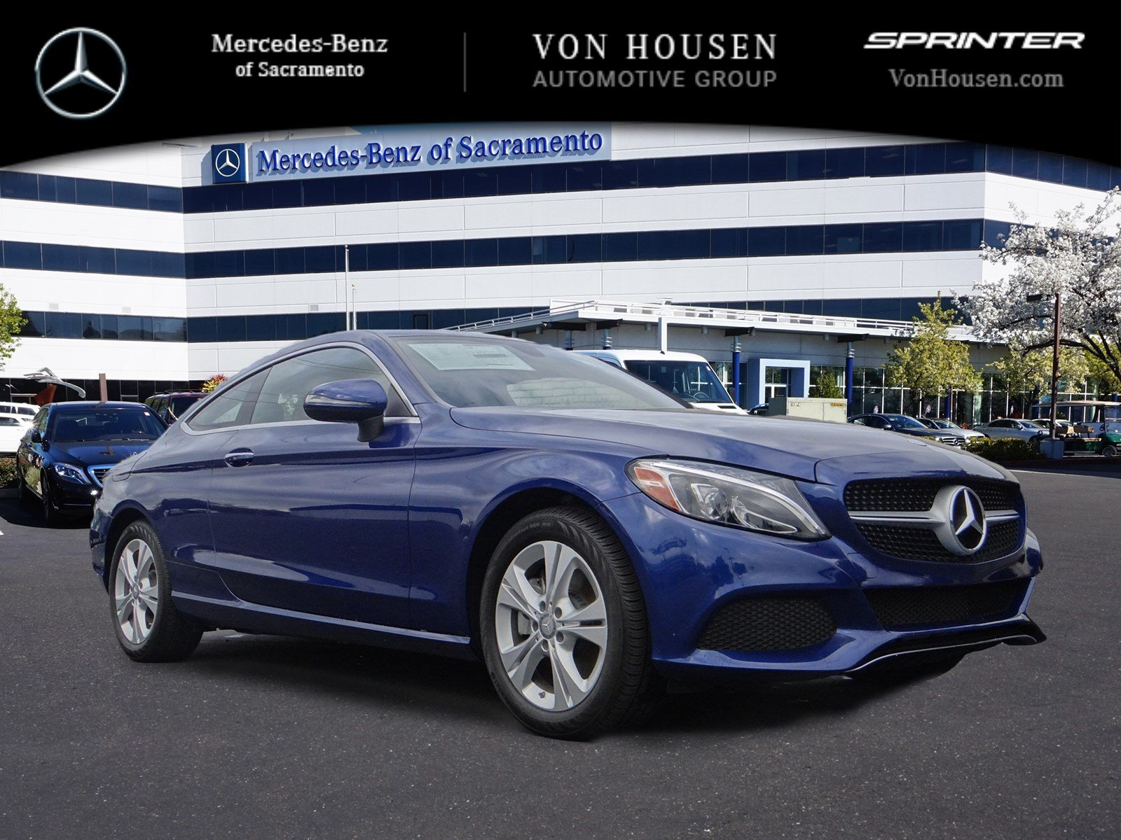 New 2017 mercedes benz c class c 300 coupe in sacramento for Mercedes benz service sacramento