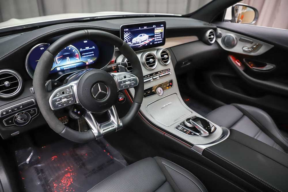 Certified Pre-Owned 2019 Mercedes-Benz C-Class AMG® C 63 Coupe
