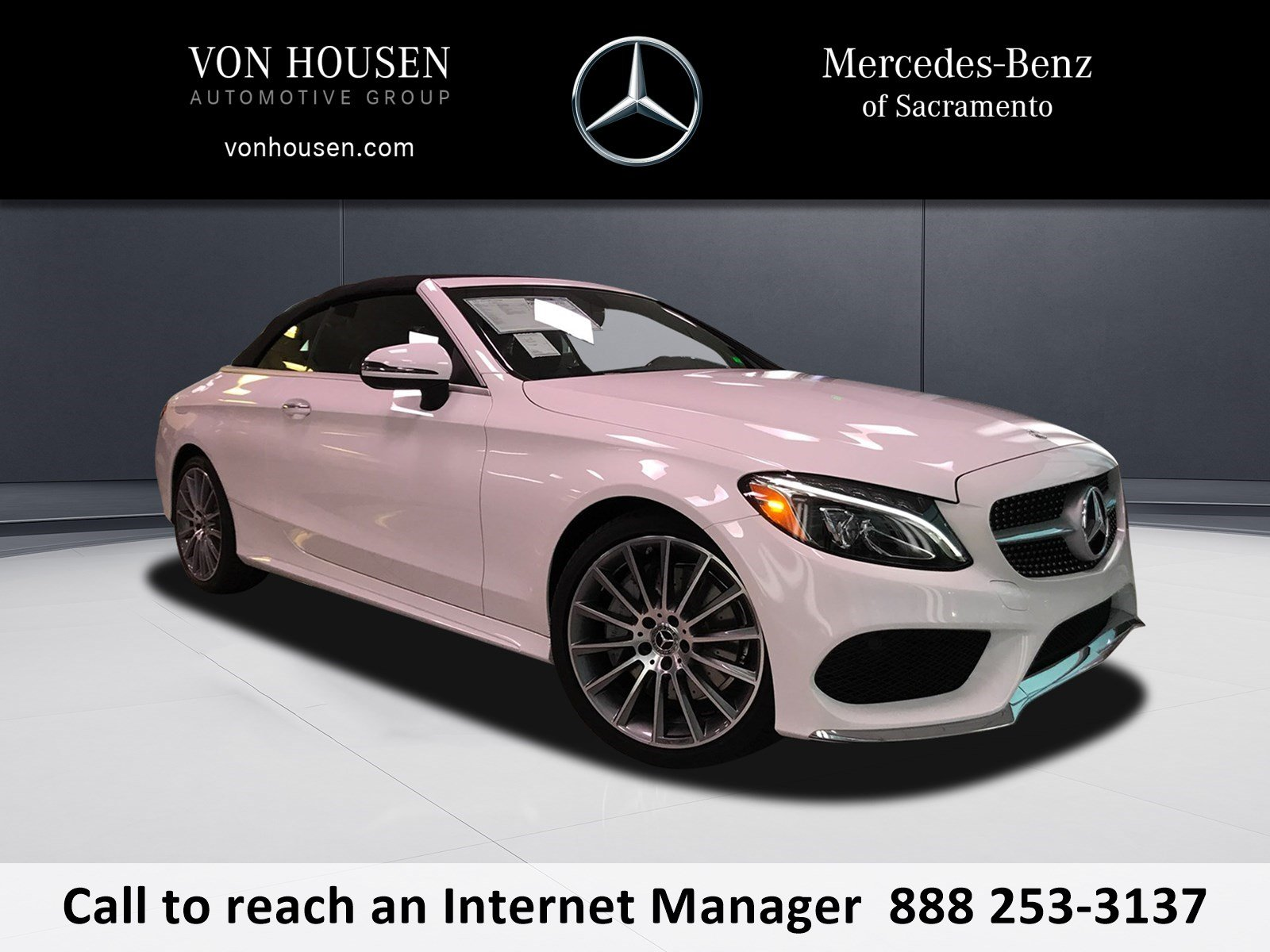 New 2018 Mercedes Benz C Class C 300 Sport CABRIOLET in Sacramento