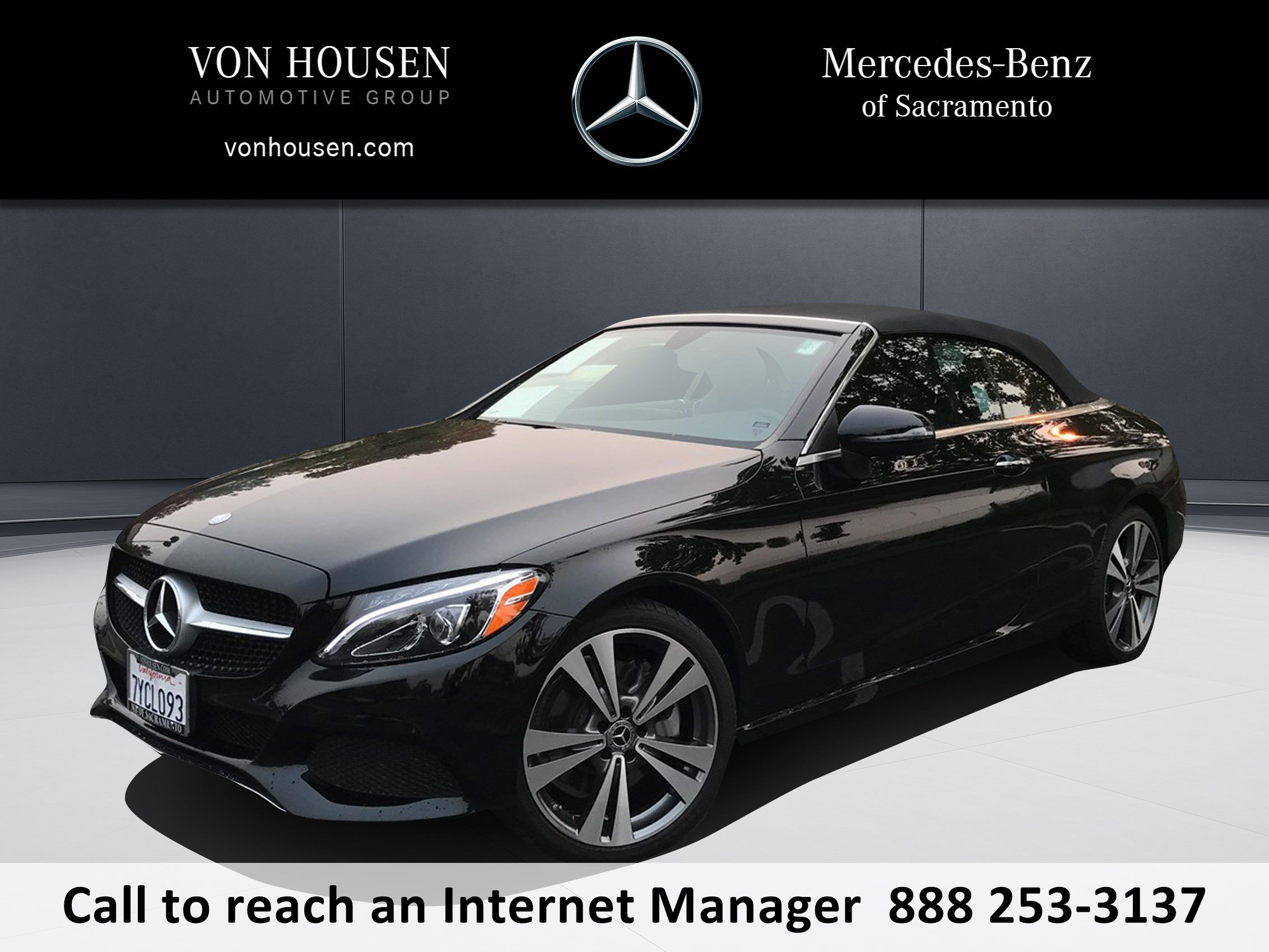 Certified Pre Owned 2017 Mercedes Benz C Class C 300 CABRIOLET in