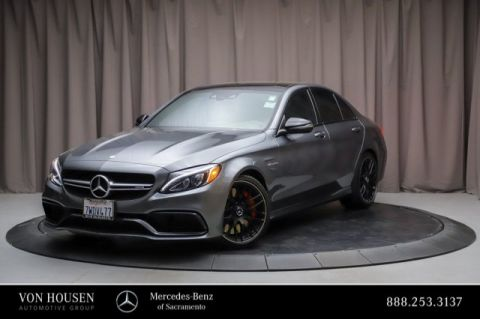 Certified Pre-Owned 2017 Mercedes-Benz C-Class AMG® C 63 S Sedan