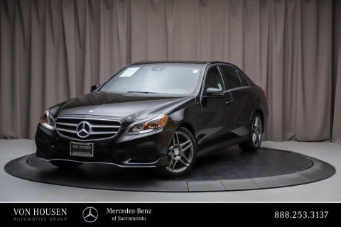 Certified Pre-Owned 2014 Mercedes-Benz E-Class E 350 Sport