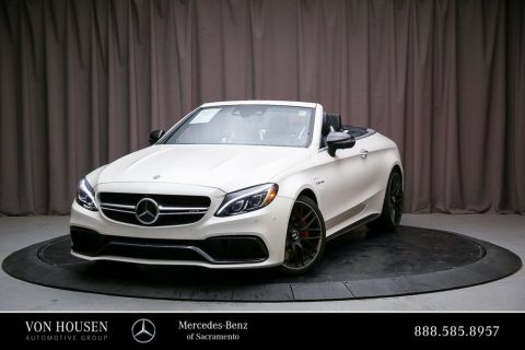 Certified Pre-Owned 2018 Mercedes-Benz C-Class AMG® C 63 S Cabriolet