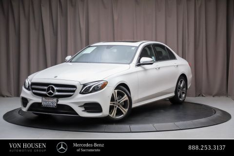 Certified Pre-Owned 2018 Mercedes-Benz E-Class E 300 Sport